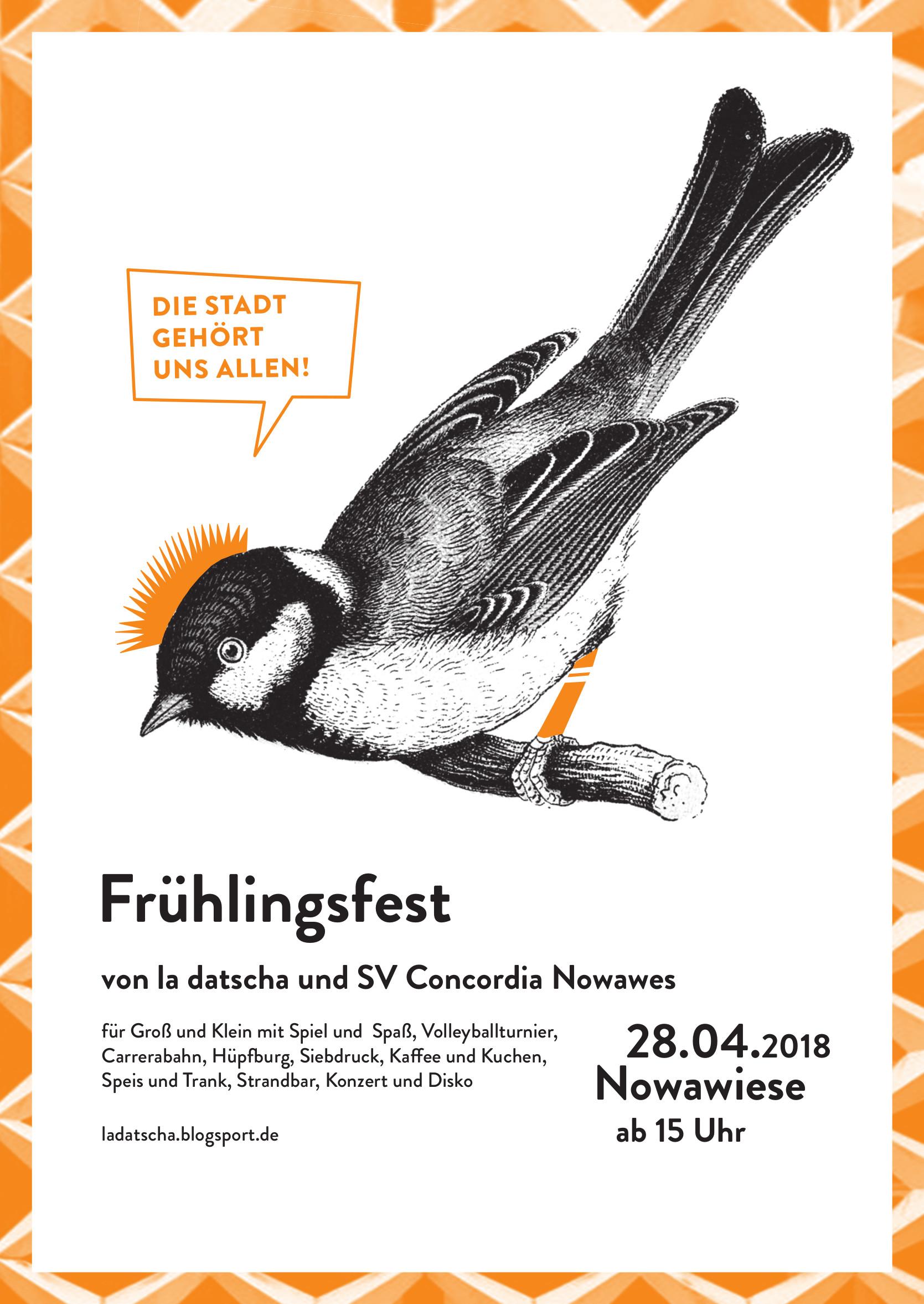 2018 Frühlingsfest la datscha