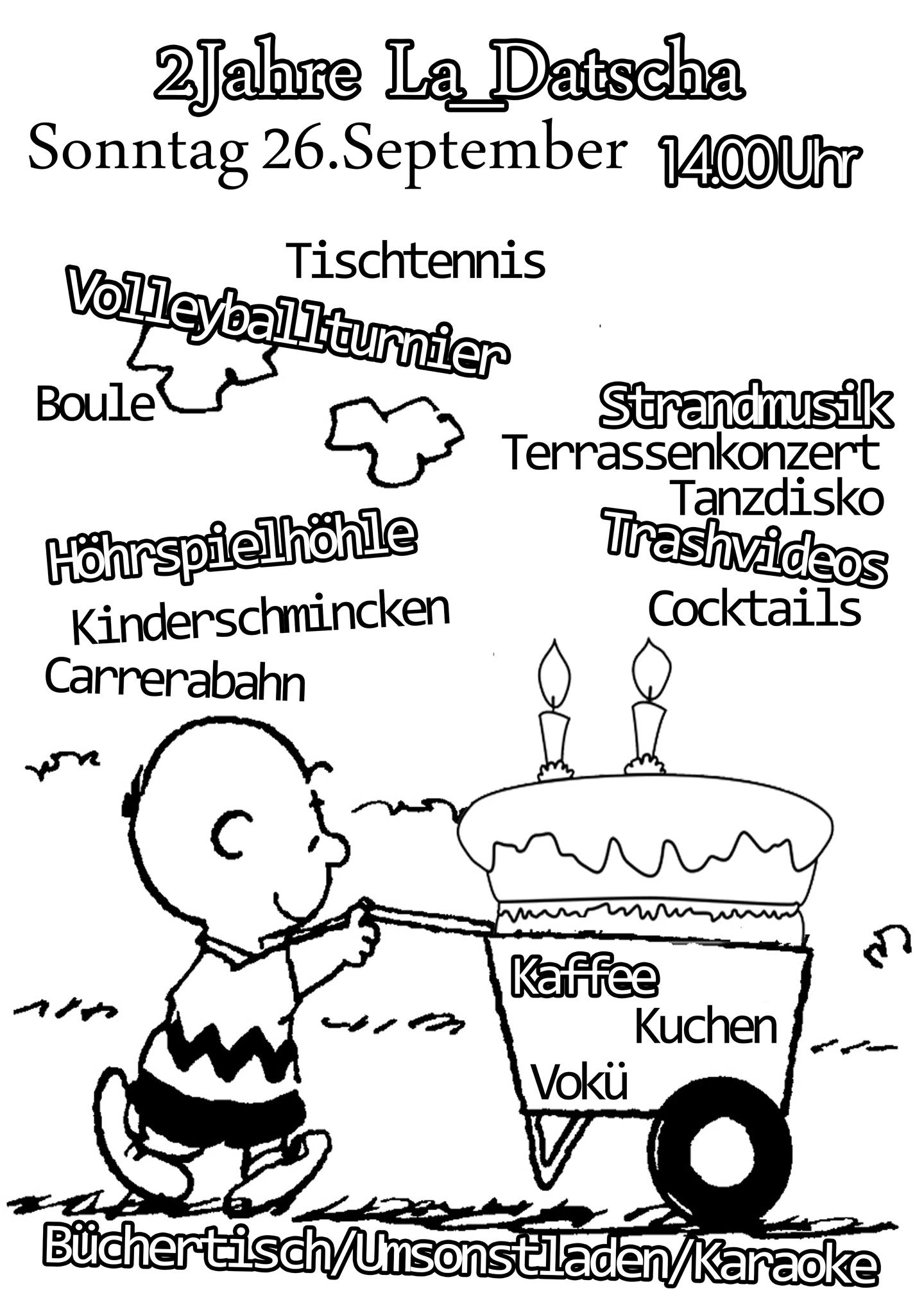 Archiv la datscha for Kuchen volker hosbach