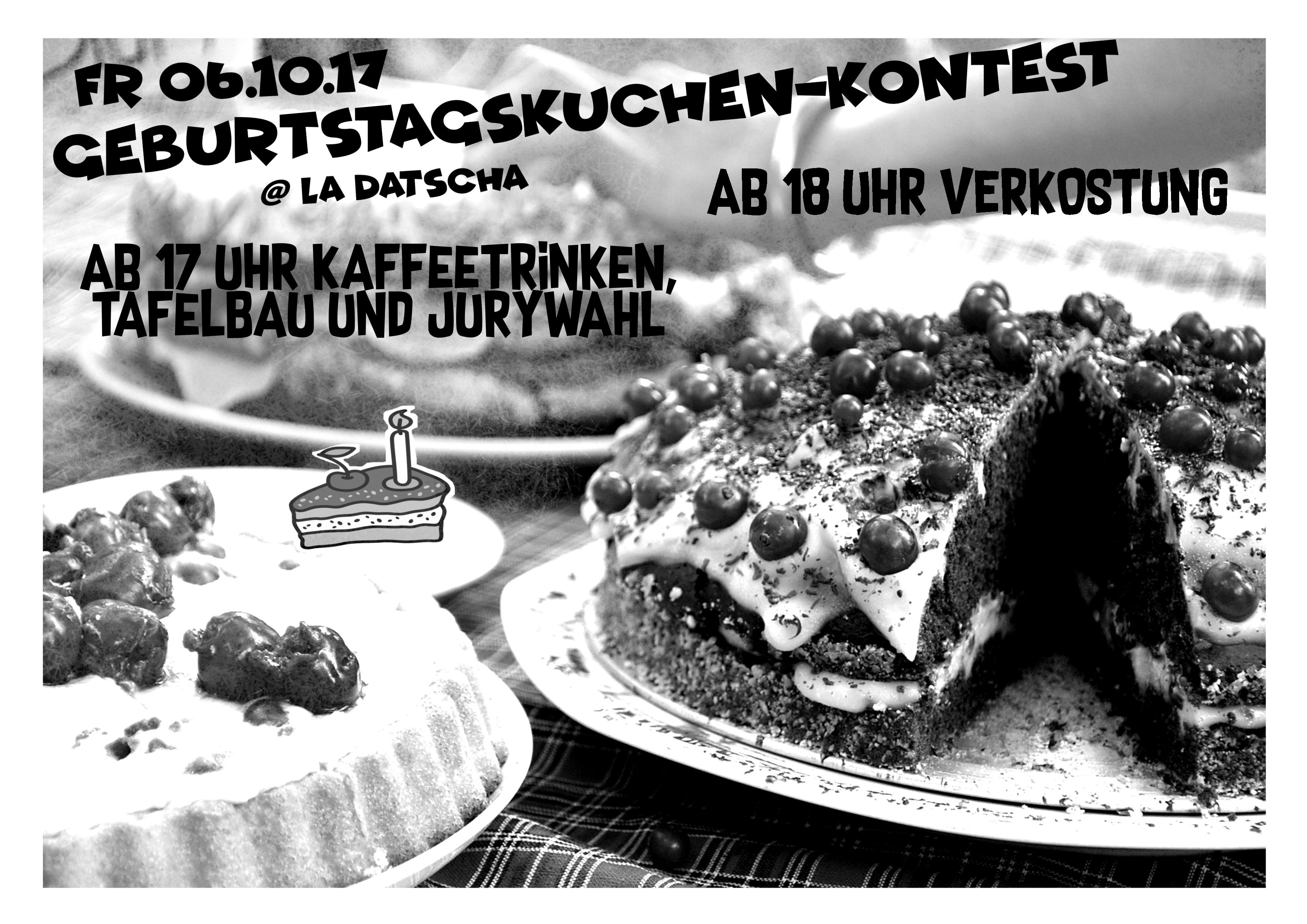 Plakat Kuchenkontest